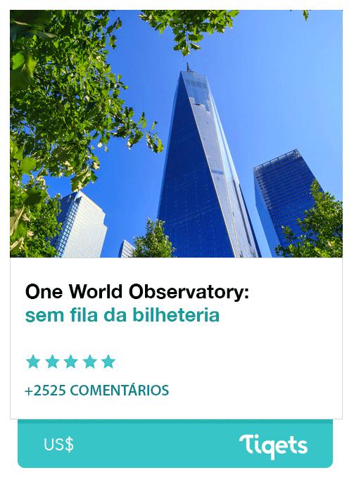 One World Observatory: sem fila na bilheteria