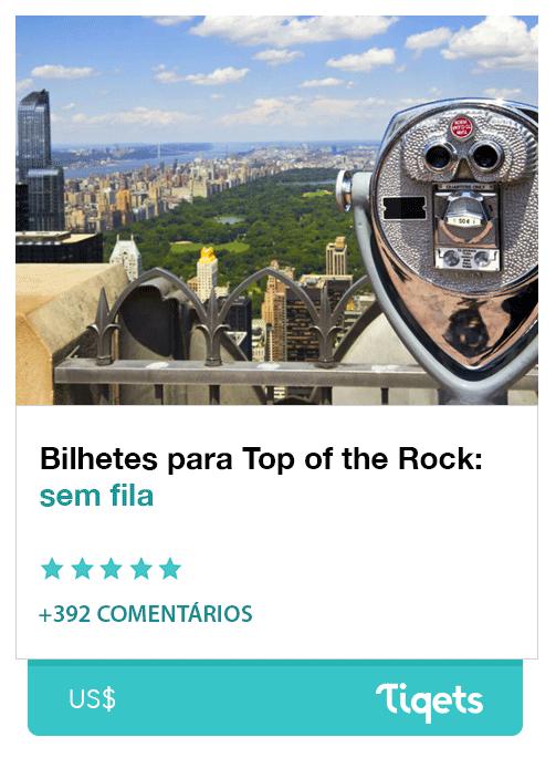 Ingresso Observatório Top of the Rock