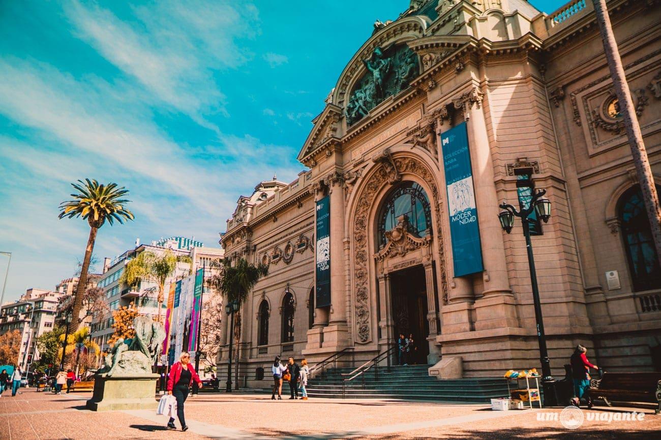 Museu Bellas Artes, Santiago do Chile