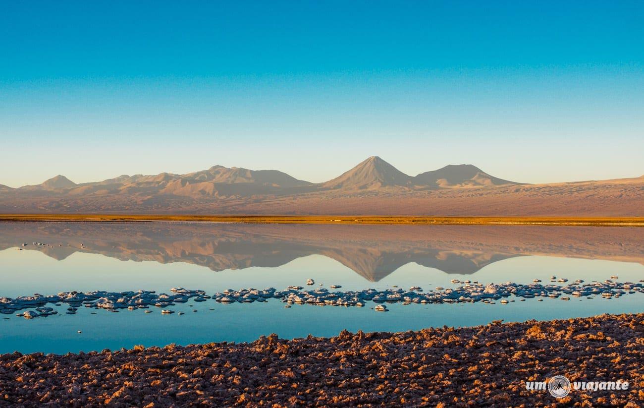 Novembro no Atacama - Reflexo da Cordilheira dos Andes