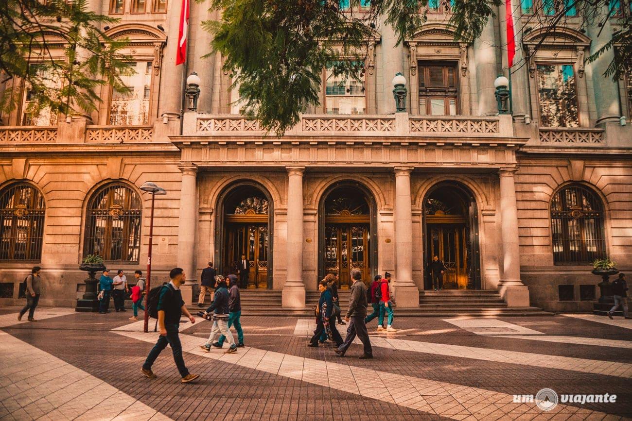 Centro Histórico de Santaigo - Banco de Chile