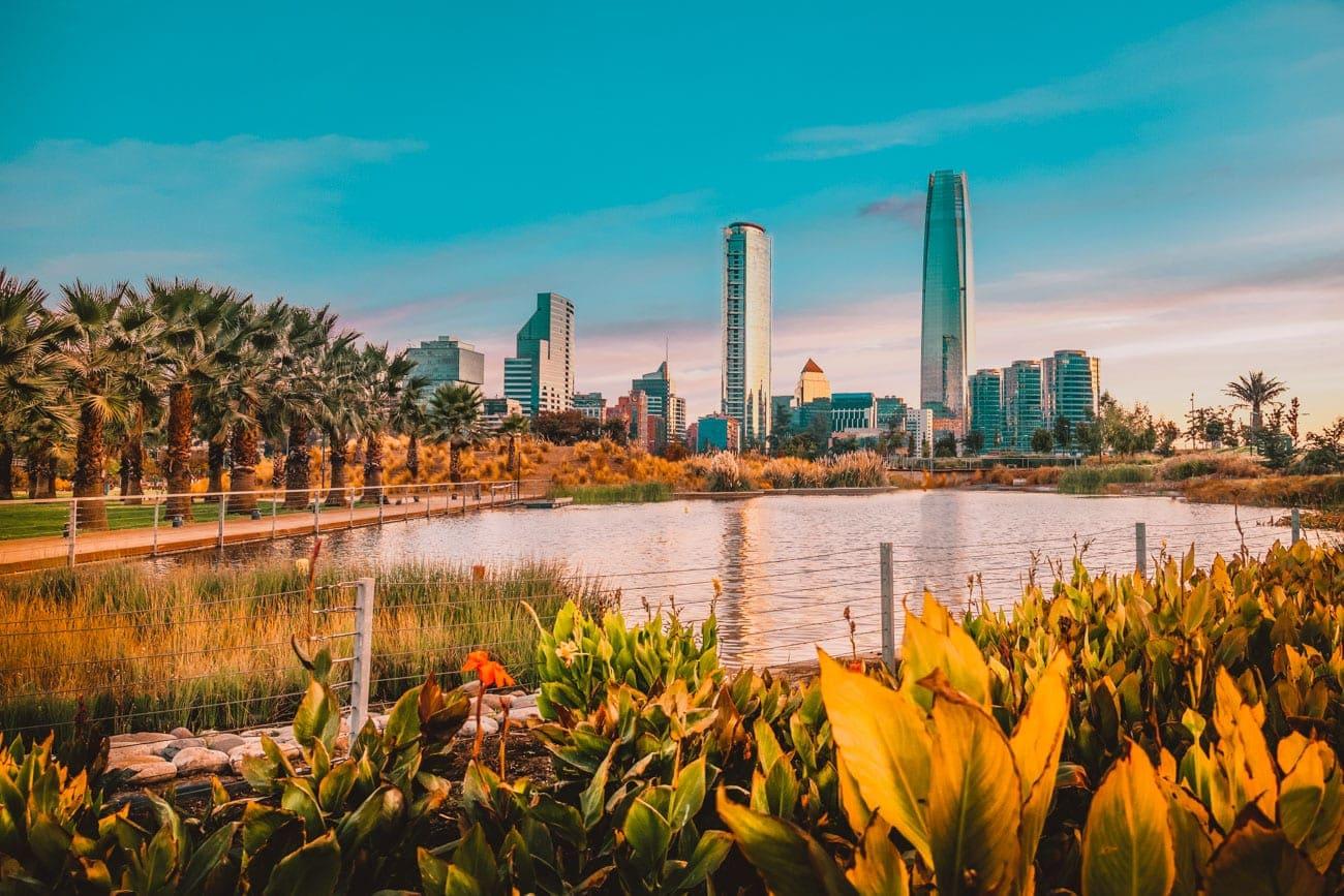 Parque Bicentenario Santiago do Chile