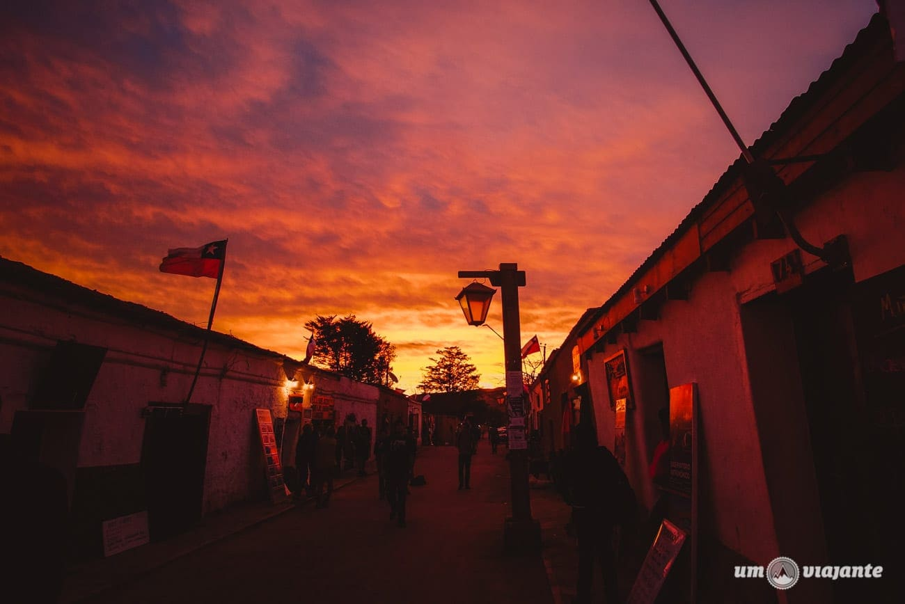 Pôr do sol em outubro, San Pedro de Atacama