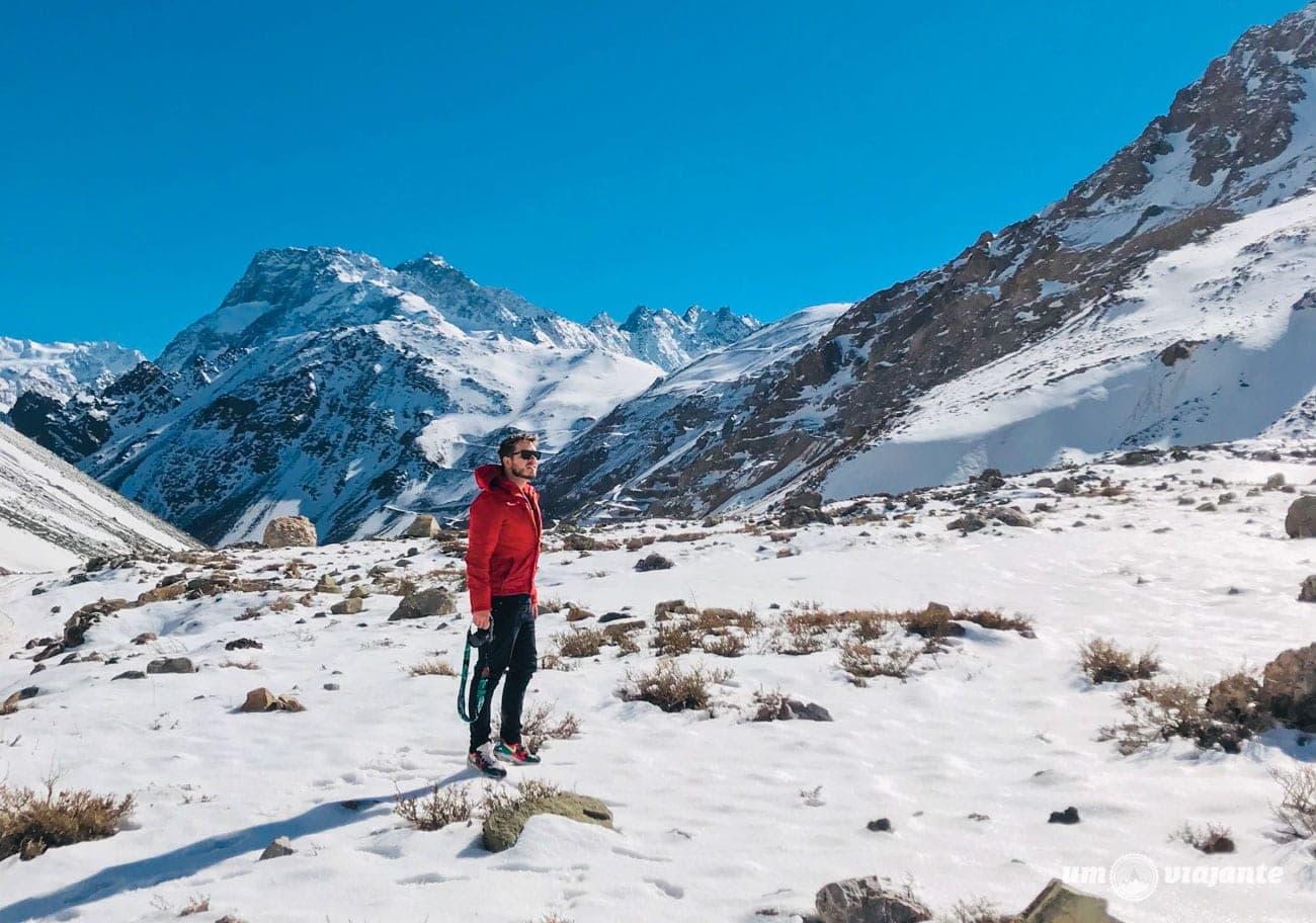 Neve em Cajon del Maipo, Chile