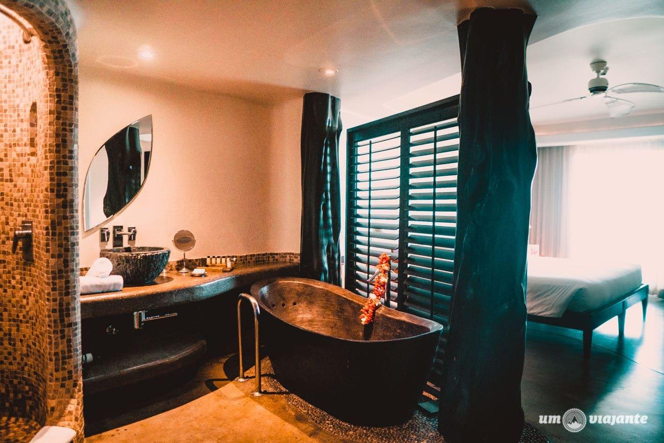 Como é o quarto no Hotel Hangaroa - Ilha de Páscoa
