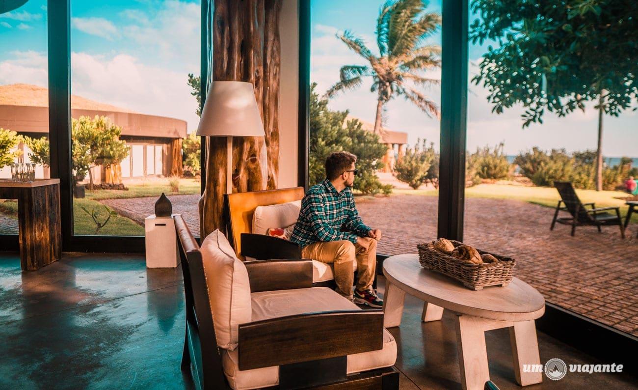 Estadia no Hotel Hangaroa, na Ilha de Páscoa