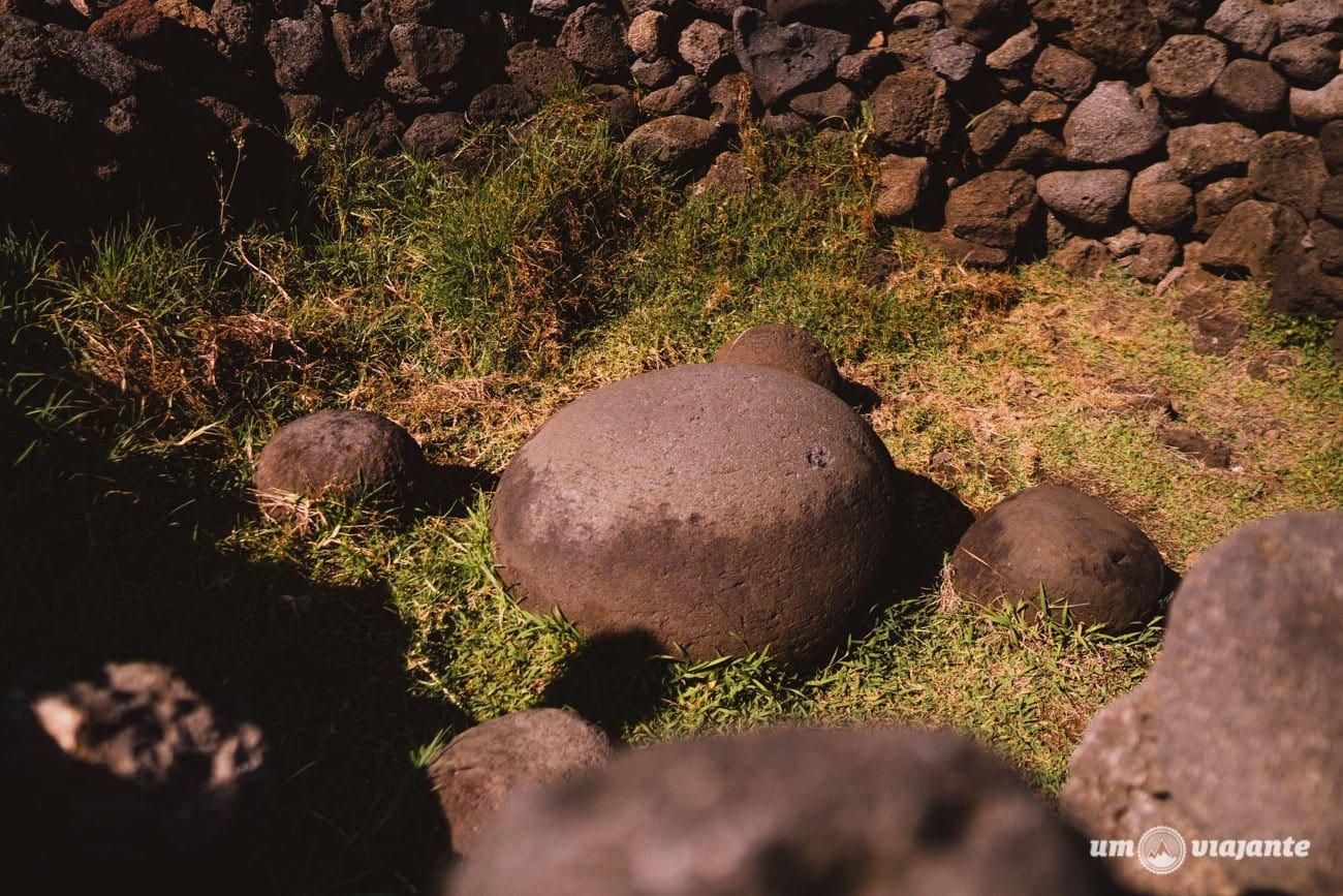 Pedra Magnética - Ahu Te Pito Kura - Ilha de Páscoa