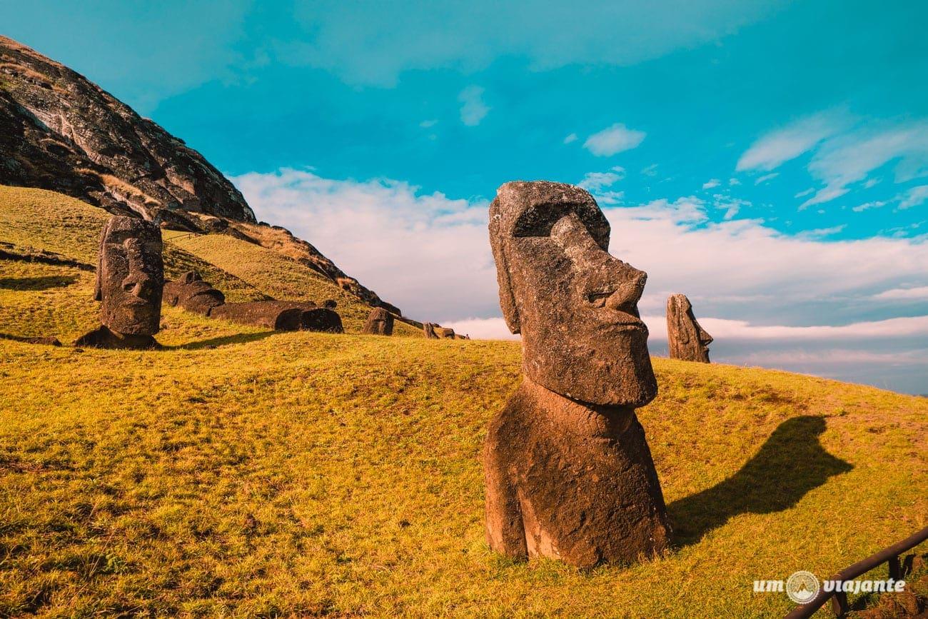 Ilha de Páscoa - Vulcão Rano Raraku