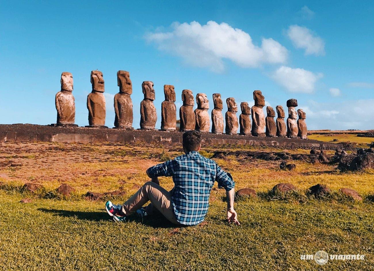 Ilha de Páscoa - Um Viajante