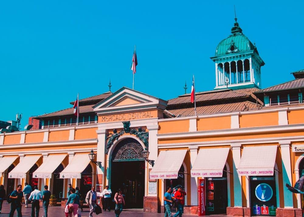 Mercado Central de Santiago do Chile