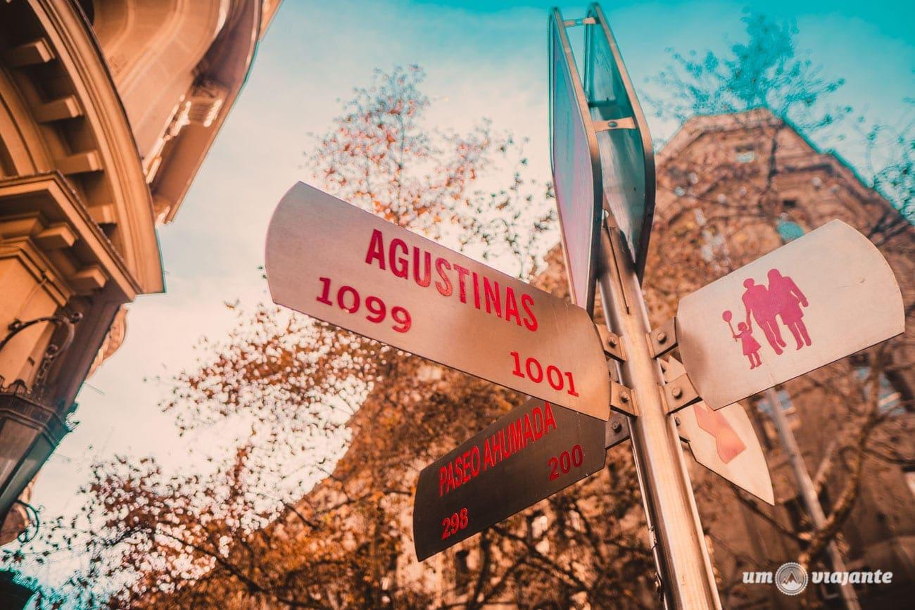 Agustinas - Casas de Câmbio em Santiago