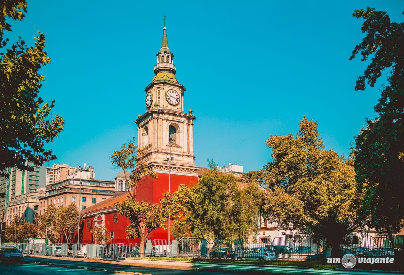 Igreja de São Francisco - Santiago do Chile