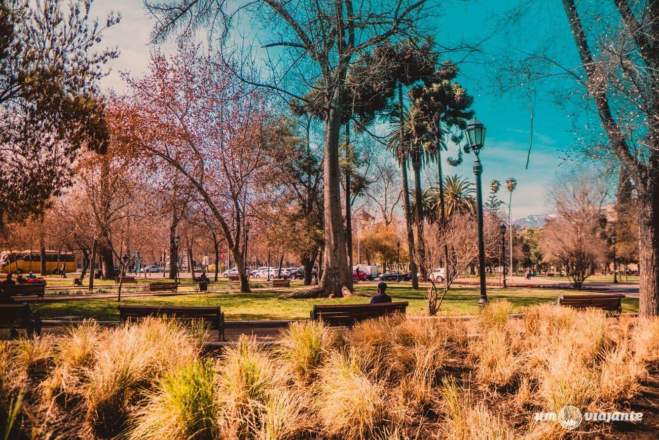 Parque Forestal - Santiago do Chile