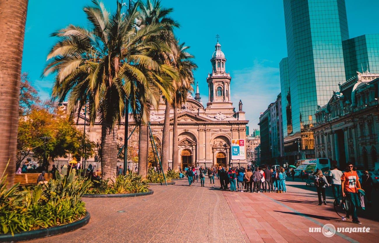 Plaza de Armas - Centro de Santiago do Chile