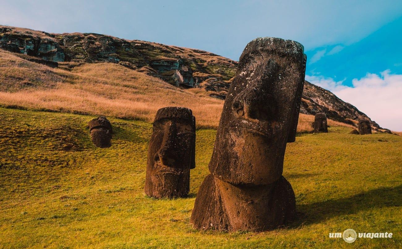 Moais Ilha de Páscoa - Chile