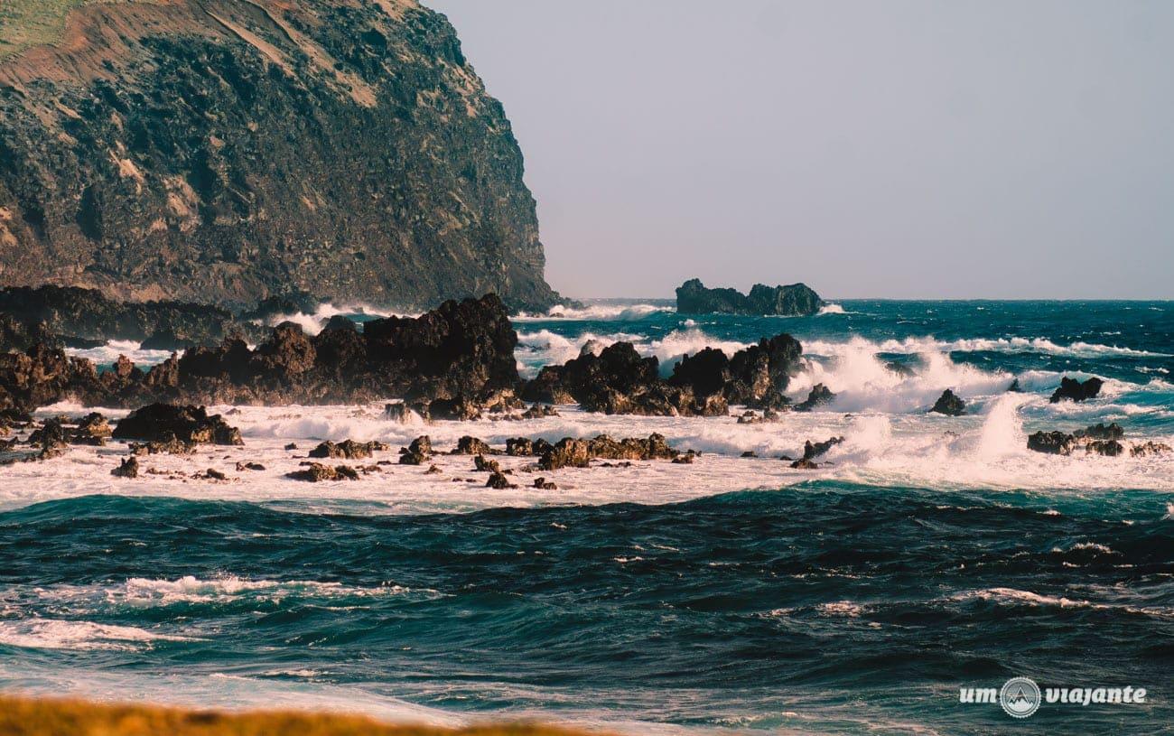 Costa da Ilha de Páscoa