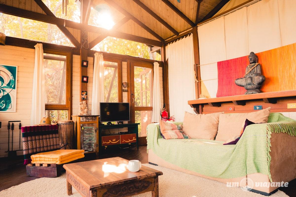 Airbnb em Florianópolis com vista para a Lagoa da Conceição