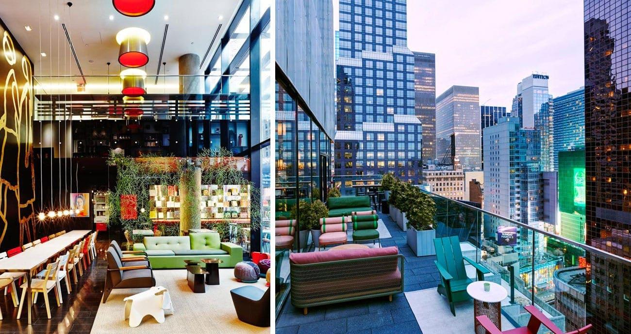 Hotel citizenM Times Square Nova York
