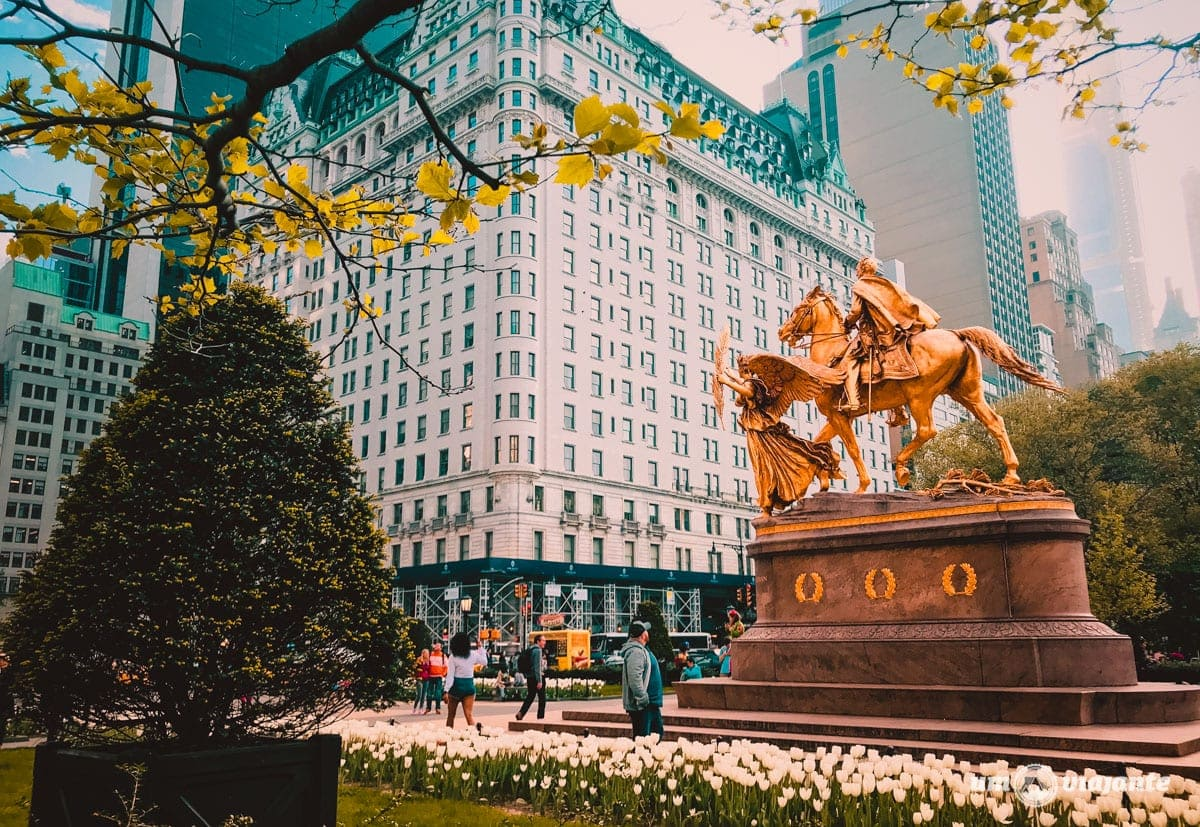 Hotel Plaza - Nova York - Central Park - Roteiro 5 dias