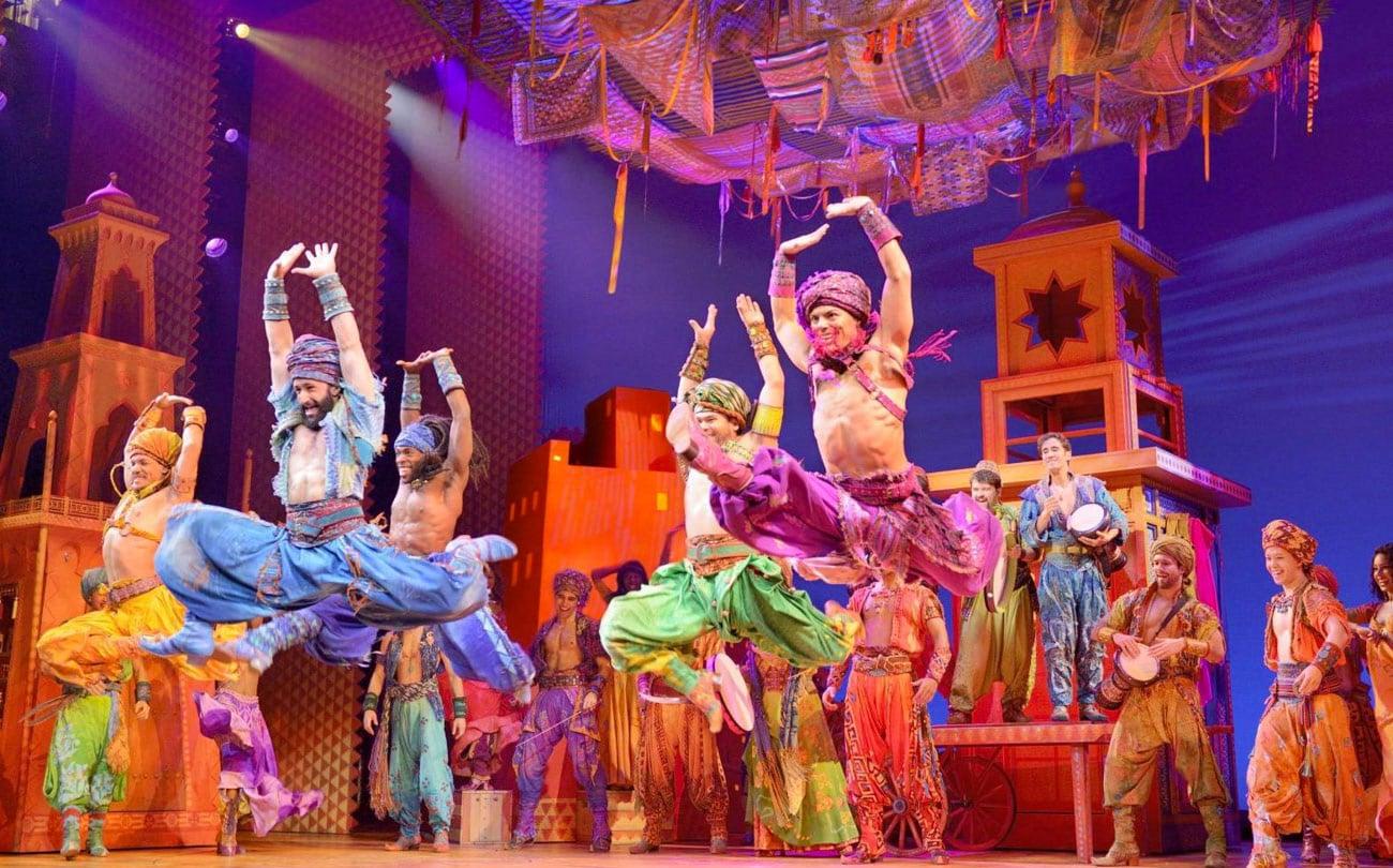 Musical Aladdin na Broadway para crianças - Nova York