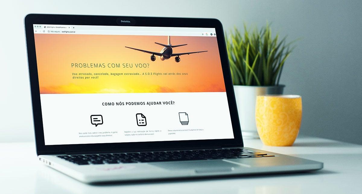 SOS Flights para indenização de voos atrasados, cancelados ou conexão perdida