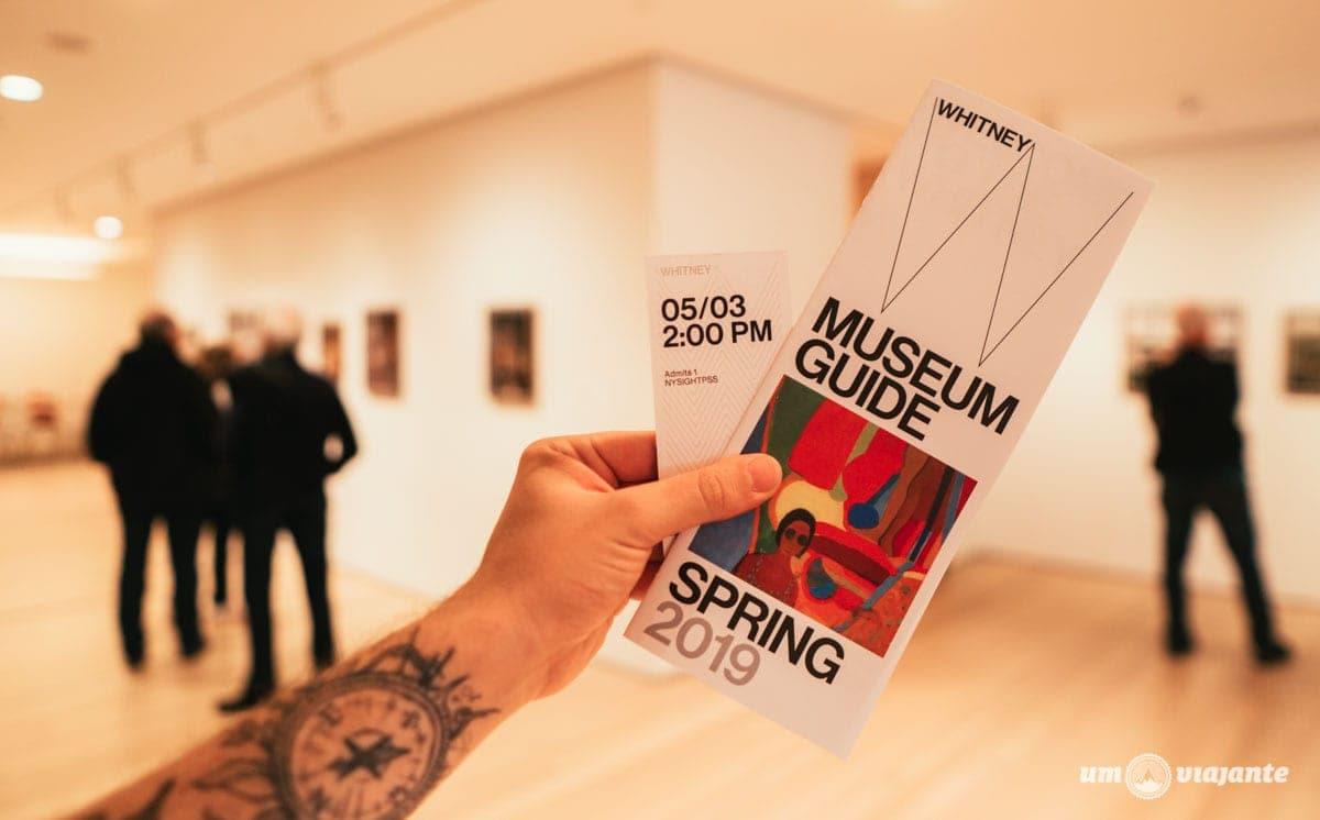 Whitney Museum Nova York - Roteiro 5 dias