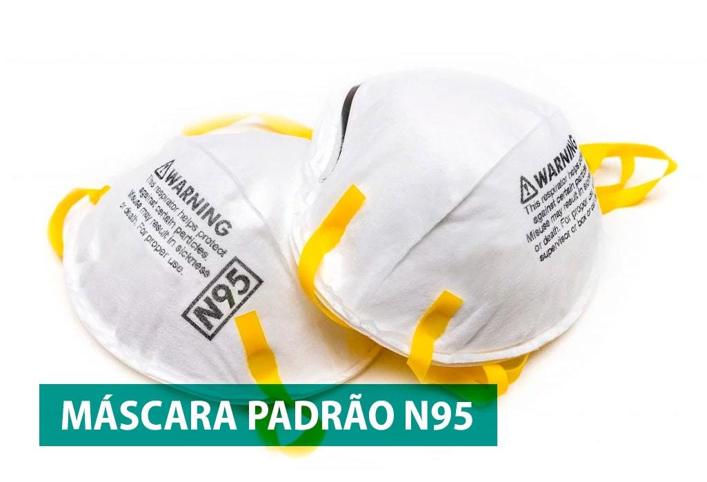 Máscara Padrão N95 - Coronavírus