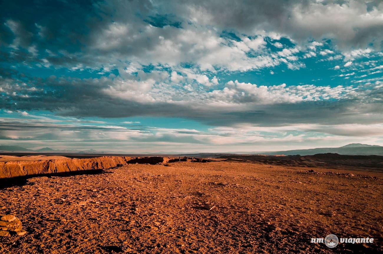 Fotos do Valle de la Muerte, no Deserto do Atacama   Foto: Robson Franzói @blogumviajante