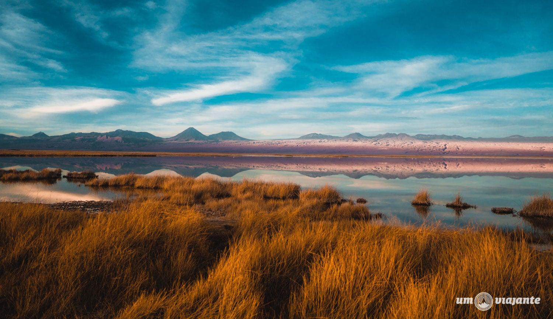 Pôr do sol na Laguna Tebinquiche   Foto: Robson Franzói @blogumviajante