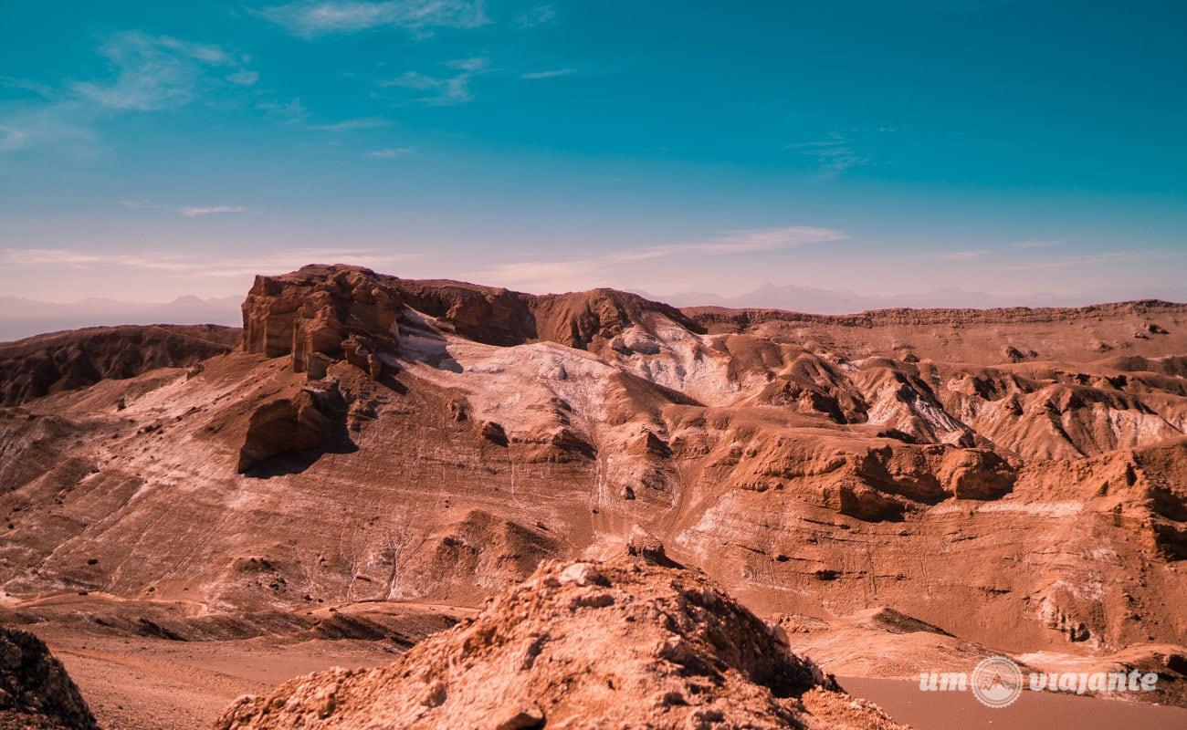 Fotos do Valle de la Luna, no Deserto do Atacama   Foto: Robson Franzói @blogumviajante