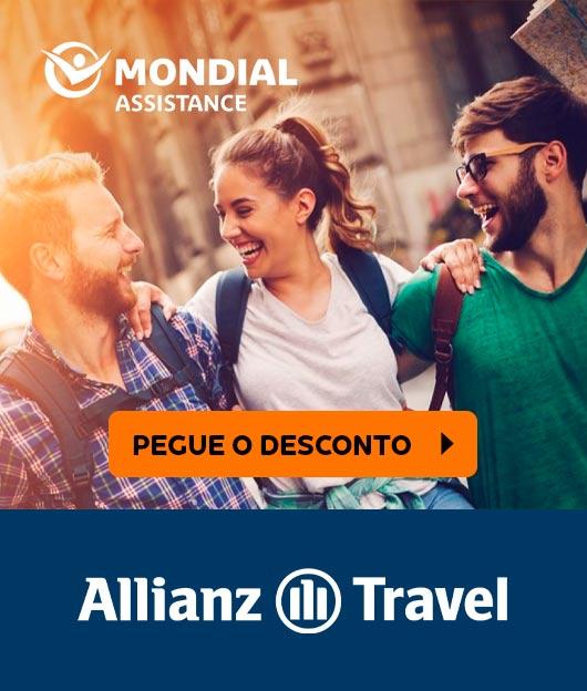 Seguro Viagem Allianz Travel