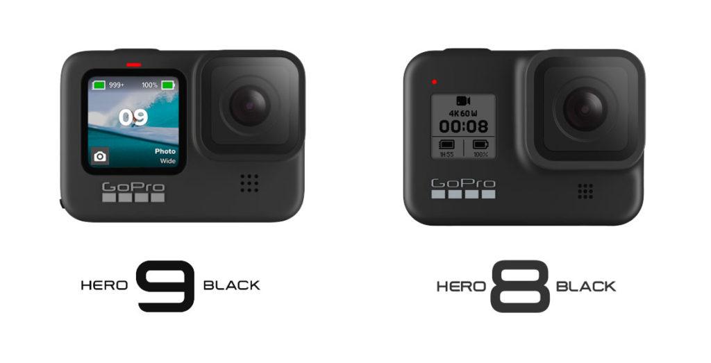 GoPro Hero 8 ou Hero 9 Black?
