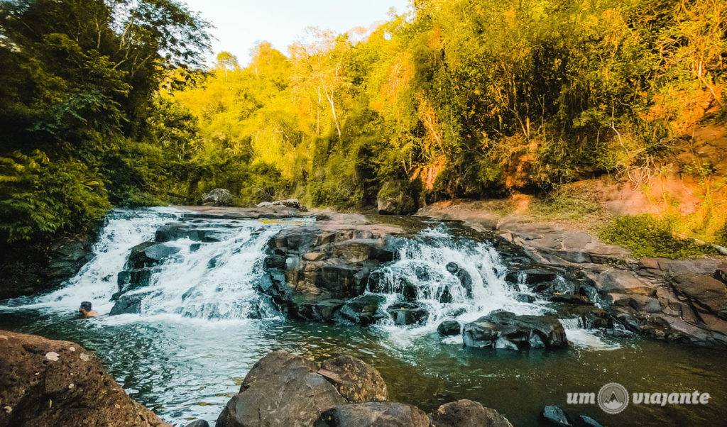 Cachoeira em Foz do Iguaçu - Rio Tamanduá - Aguaray