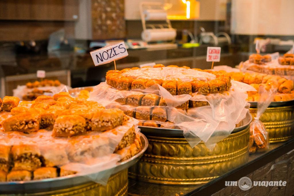 Loja de doces árabes em Foz: conheça a Albayan