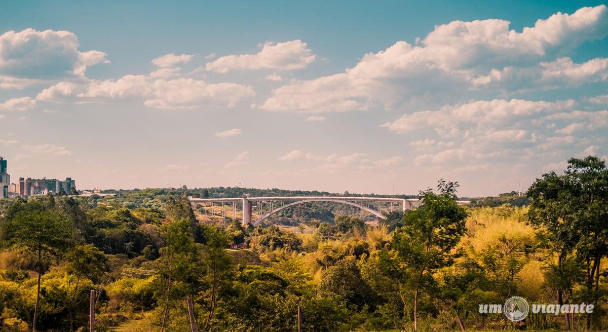 Ciudad del Este e a Ponte da Amizade