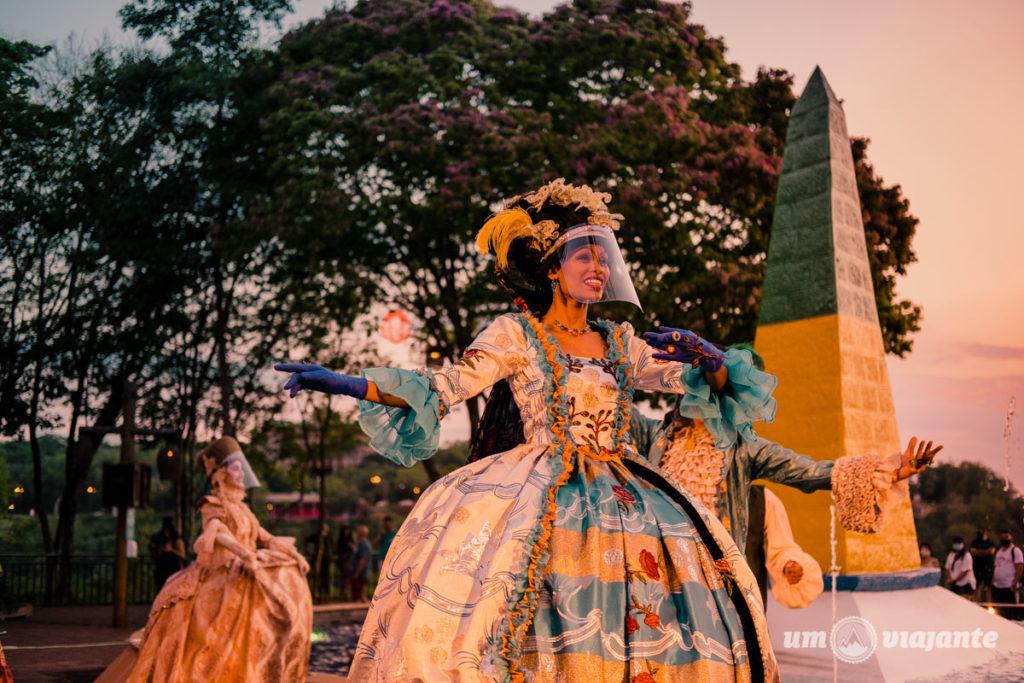 Show no Marco das Três Fronteiras - Foz do Iguaçu - City Tour