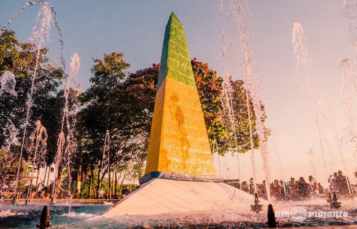 Marco das Três Fronteiras - Foz do Iguaçu - City Tour