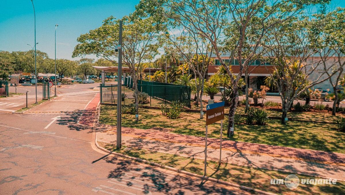 Entrada do Centro de Recepção de Visitantes Itaipu