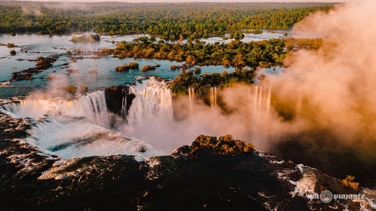 Voo de Helicóptero nas Cataratas do Iguaçu