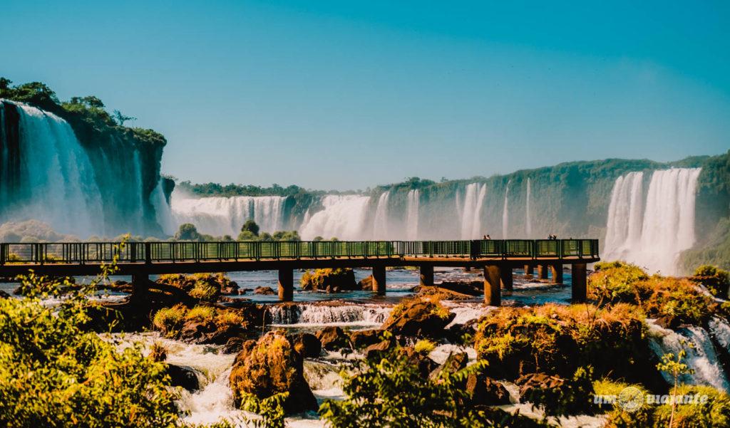 Como é a visita às Cataratas do Iguaçu
