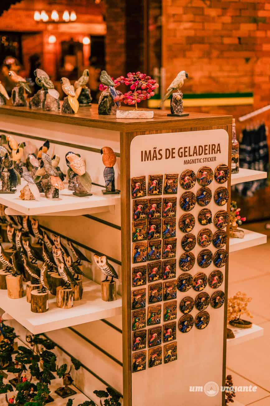 Loja de souvenirs - Marco das Três Fronteiras - Foz do Iguaçu
