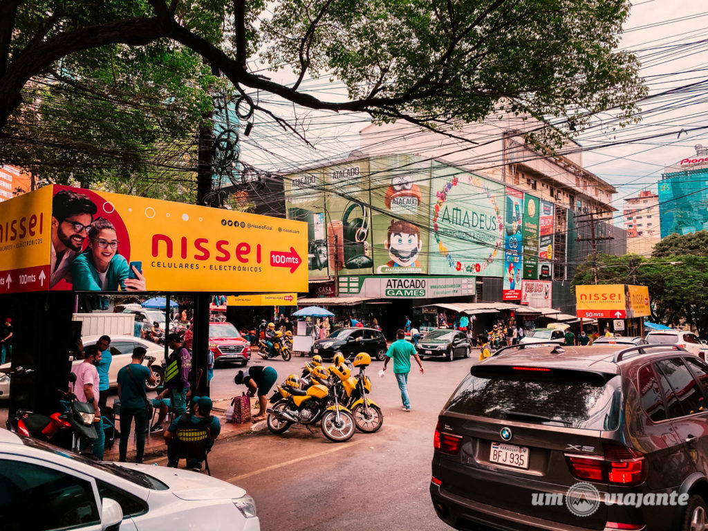 Roteiro de 1 dia de compras no Paraguai