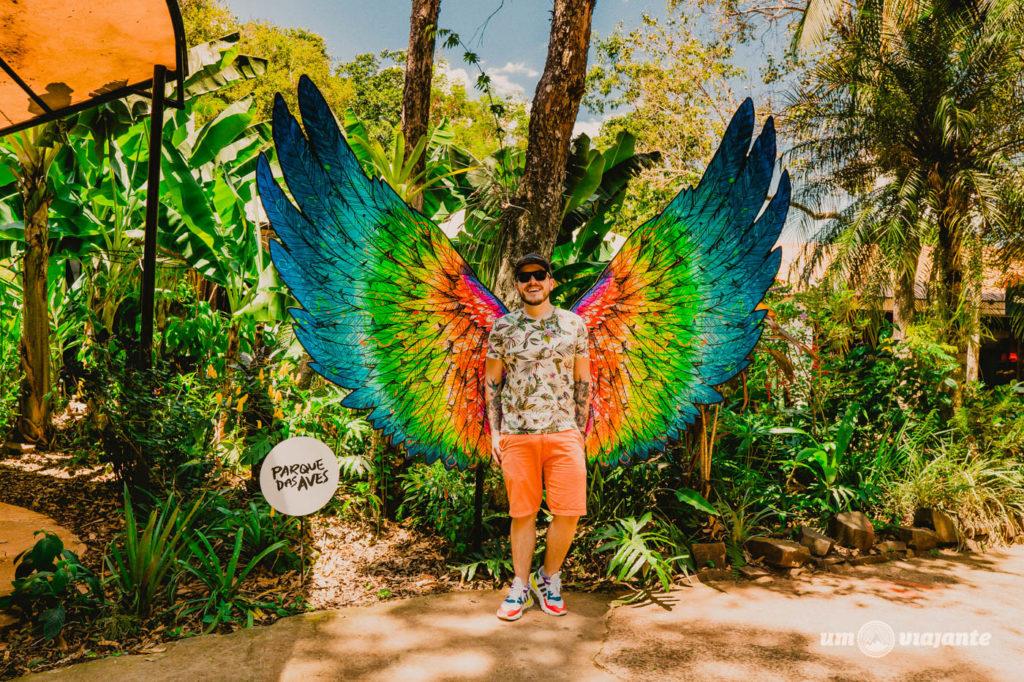 Fotos no Parque das Aves - Foz do Iguaçu