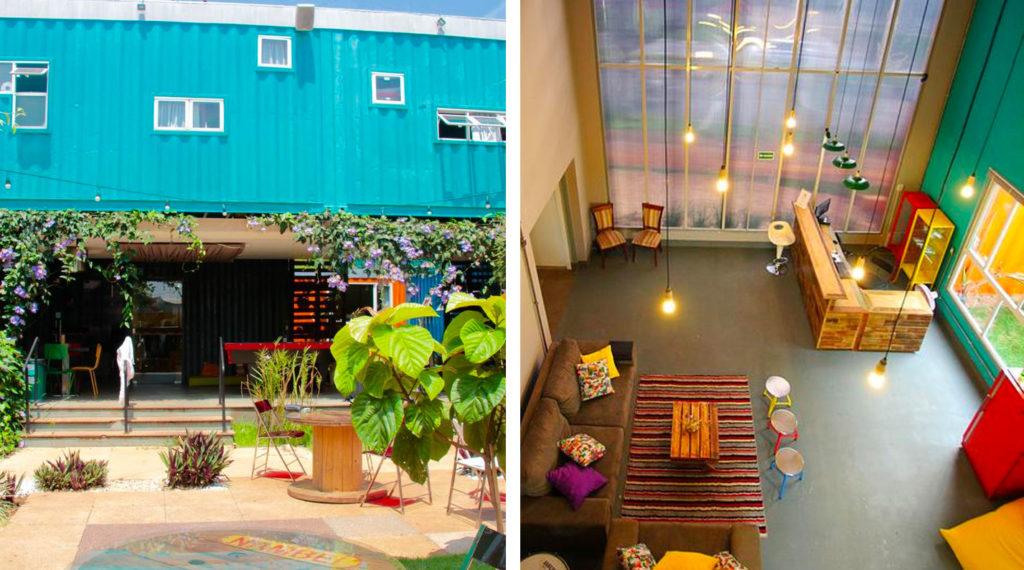 Tetris Container Hostel Foz do Iguaçu