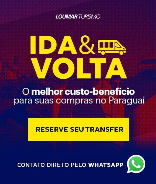 Reserve seu transfer para o Paraguai!