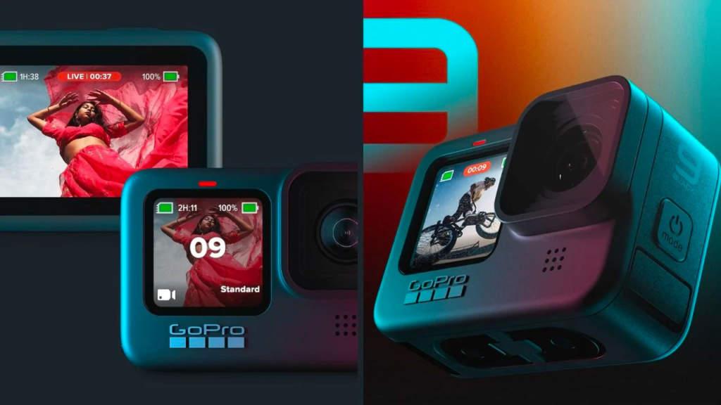 GoPro Hero 9 - Display frontal