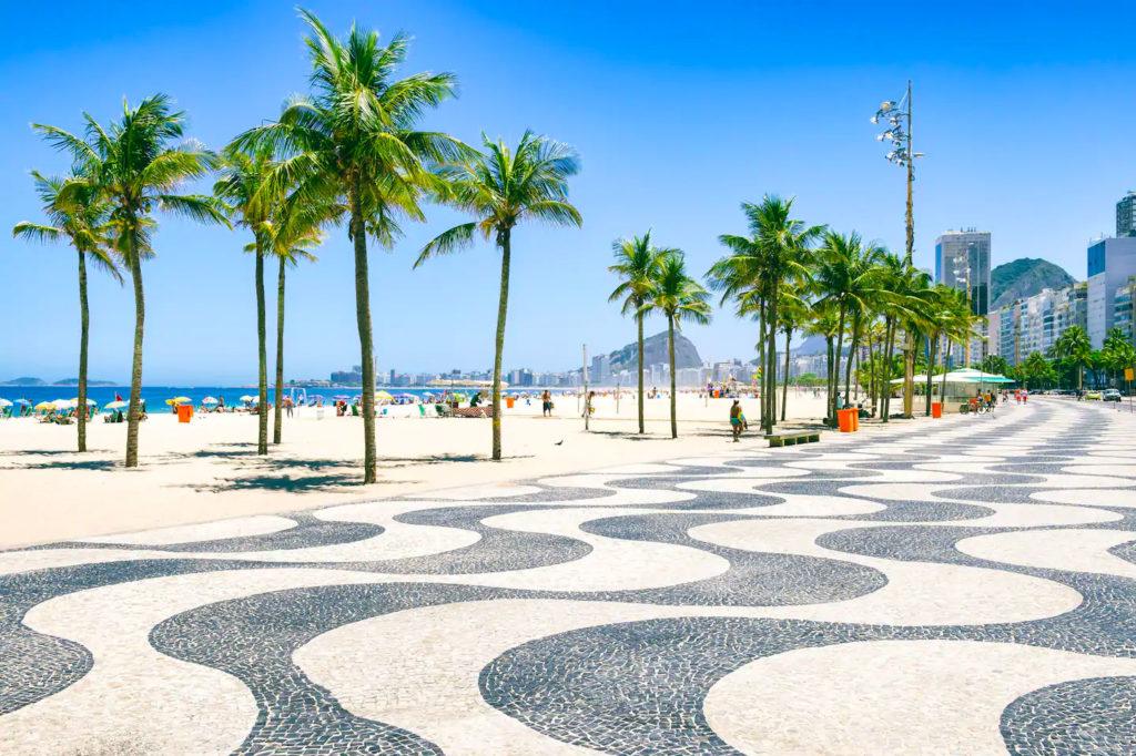 Calçadão de Copacabana - Rio de Janeiro