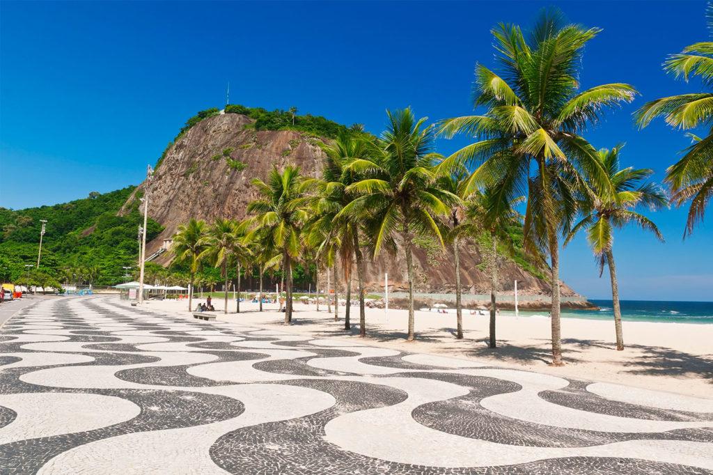 Praia do Leme, Copacabana - Rio de Janeiro